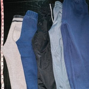 Lot of 5 sweat pants/active wear boys pants